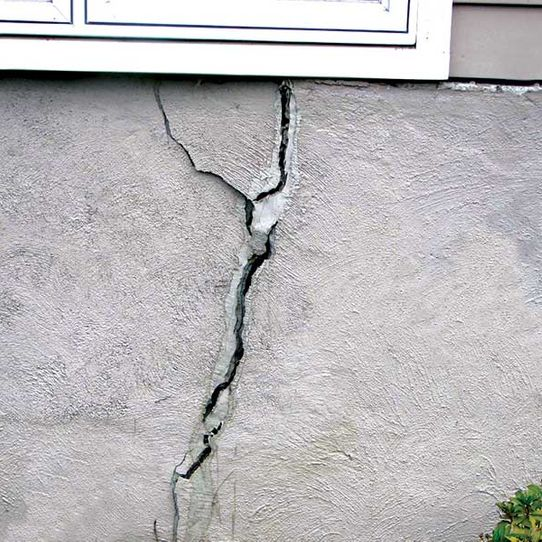 Exterior Crack Injection